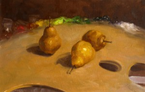 Pears and Palette